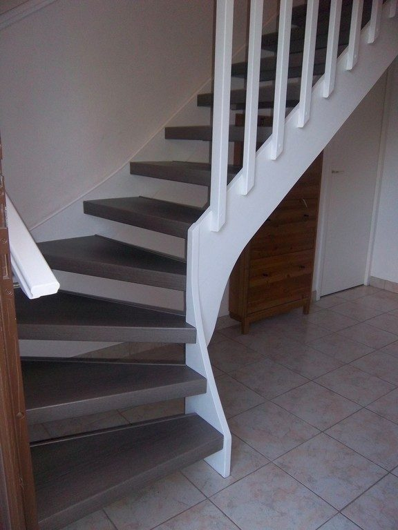 Escalier Sans Contremarche styl'stair44 | réalisations en rénovation et habillage d'escalier