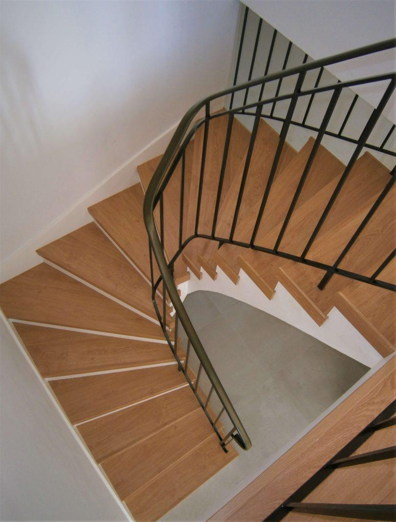 Habillage d'escalier sur Couffé